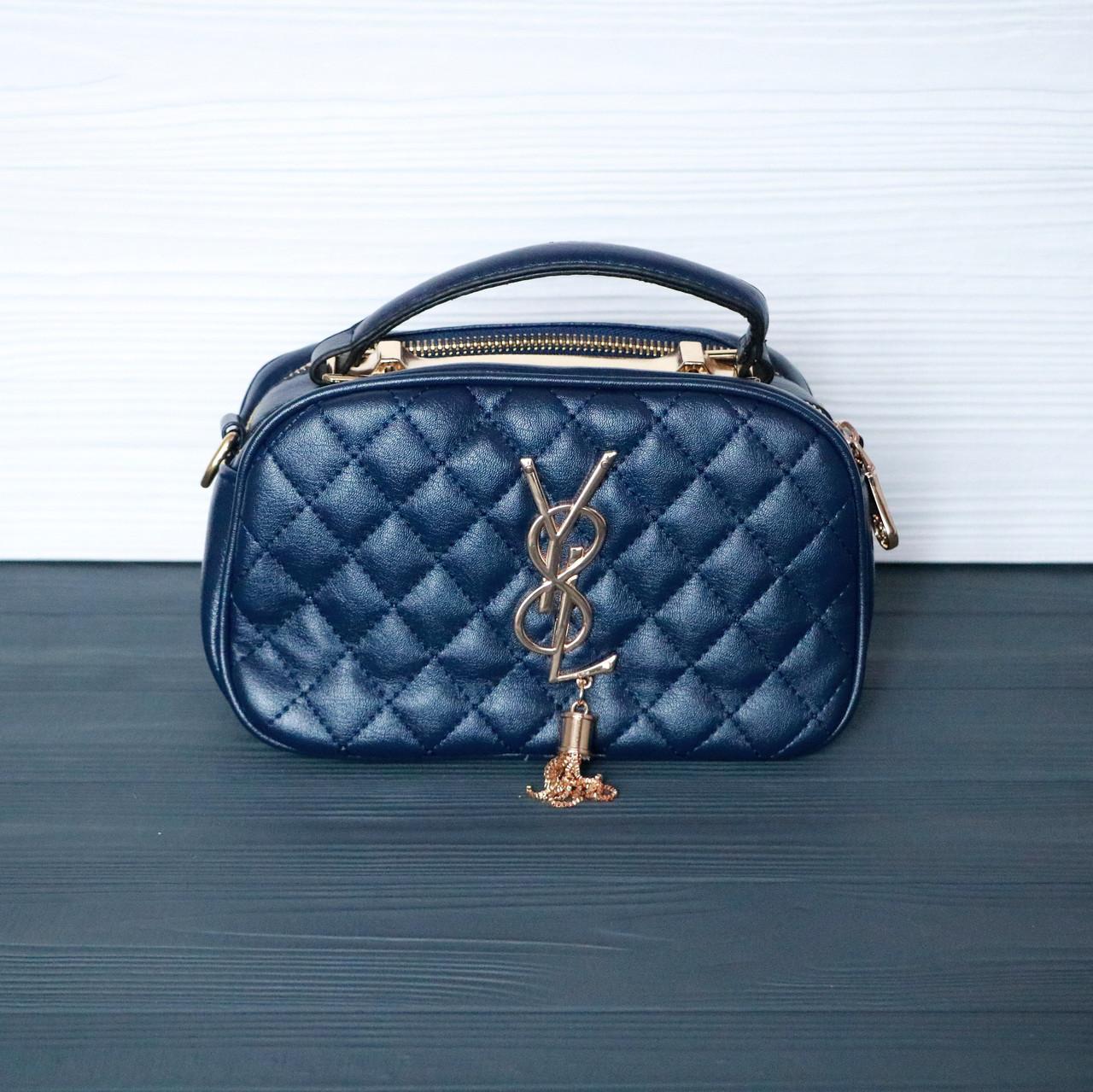 650a2137734f Женская сумка через плечо Темно-синяя: продажа, цена в Обухове ...