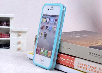 Бампер apple iphone 5,5S черный, белый, голубой