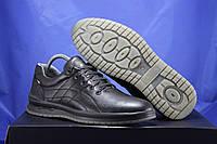 Мужские кожаные мокасины,туфли на шнурках