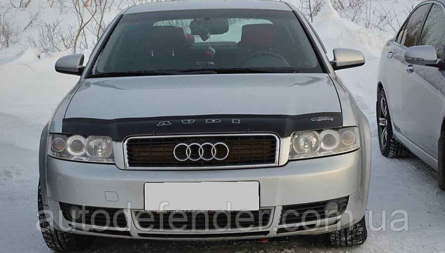 Дефлектор капота (мухобойка) Audi A4 (8Е, В6) 2001-2005, Vip Tuning, AD08