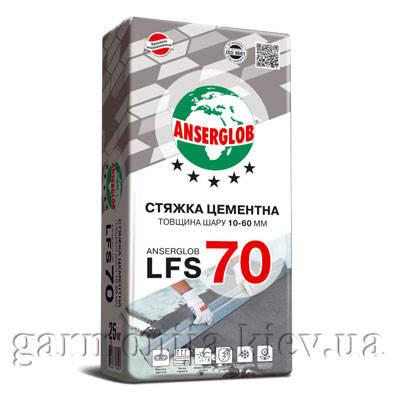Стяжка для пола Anserglob LFS 70, 25 кг, фото 2