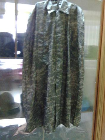 Плащ-накидка армейская пиксель не промокаемая, фото 2