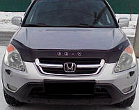 Дефлектор капота (мухобойка) Honda CR-V 2002-2007, Vip Tuning, HD08