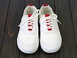 Белые текстильные кеды Lonza FLM91006 WHITE 36 23 см, фото 2