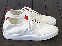 Белые текстильные кеды Lonza FLM91006 WHITE 36 23 см, фото 1