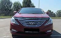 Дефлектор капота (мухобойка) Hyundai Sonata (YF) 2009-2015, Vip Tuning, HYD23