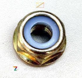 Гайка М10 левая резьба для бензокосы  №10022