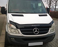 Дефлектор капота (мухобойка) Mercedes-Benz Sprinter 2006-2013, Vip Tuning, MRD07