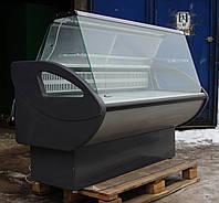 Холодильная витрина колбасная «Росс Росинка» 1.6 м. (Украина), идеальное состояние, Б/у, фото 1