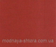 "Тканевые рулонные шторы ""Oasis"" лен (паприка), РАЗМЕР 55х170 см"