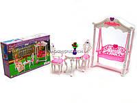Детская игрушечная мебель Глория Gloria для кукол Барби Для террасы 2619. Обустройте кукольный домик