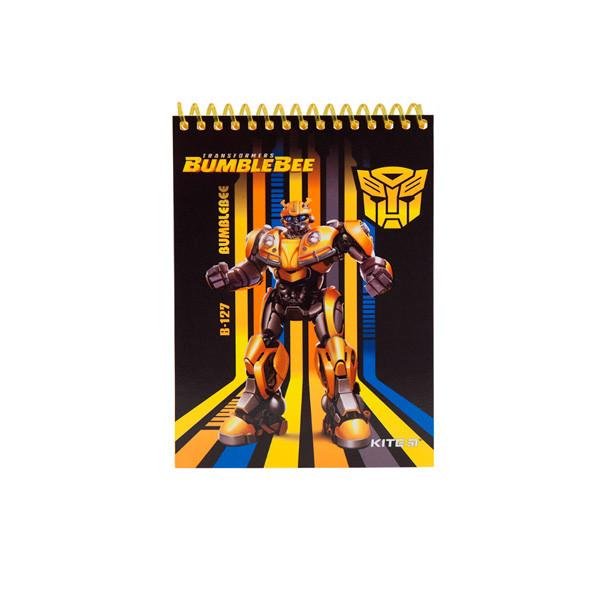 "Блокнот А6 48л # ""Kite"" TF19-196 ""Transformers"" спир.бок."