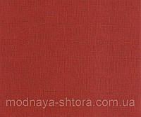 "Тканевые рулонные шторы ""Oasis"" лен (паприка), РАЗМЕР 60х170 см, фото 1"