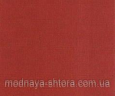 "Тканевые рулонные шторы ""Oasis"" лен (паприка), РАЗМЕР 62,5х170 см"