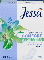 Ежедневные гигиенические прокладки Jessa Normal Aloe Vera-2 капли, 50 шт., фото 1