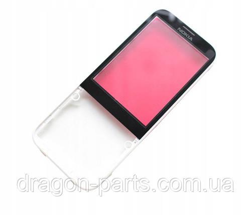 Передняя панель  Nokia  225 белая оригинал , 02507G3, фото 2
