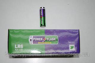 Батарейка (пальчиковая цена за 1 шт.) POWER FLASH super alkaline AA