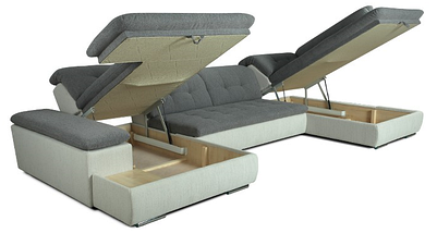 """Модульный раскладной диван """"Хилтон"""" П - образный TM """"Dommino"""", фото 3"""