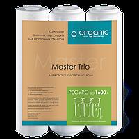 Комплект картриджей Master Trio для тройных систем очистки воды