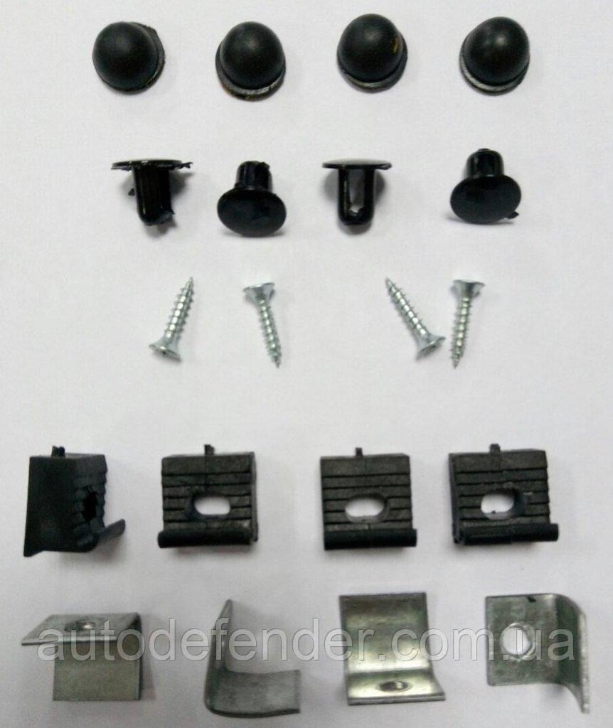 Крепление, крепеж дефлектора капота - мухобойки Vip Tuning, Fly, VT52