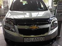 Дефлектор капота (мухобойка) Chevrolet Orlando 2011-2015, SIM, SCHORL1112