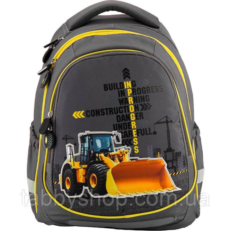 Рюкзак школьный ортопедический KITE Under construction 700