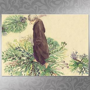 Плакат Аниме Mushishi 02