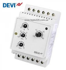 Devireg 316, Терморегулятор електронний на шину DIN з можливістю установки діапазону температур