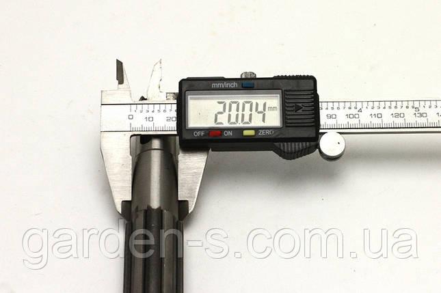 Вал отбора мощности (промежуточного редуктора) D=17,5 мм, фото 2