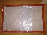 Коврик силиконовый для выпечки 40х60 см (армированный стекловолокном), фото 2