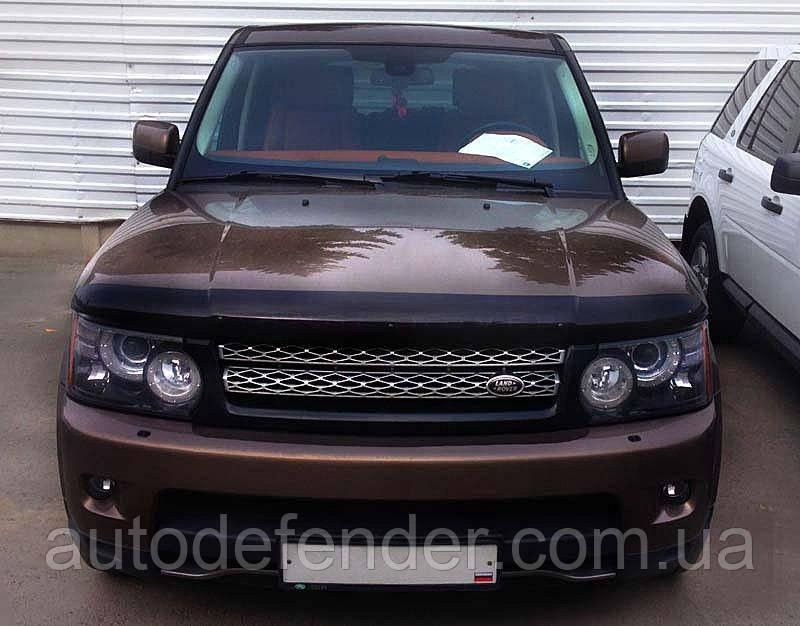 Дефлектор капота (Люкс!) мухобойка Land Rover Range Rover Sport 2009-2013, SIM, SLRRRS0912