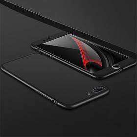 "Пластиковая накладка LikGus 360 градусов для Apple iPhone 6/6s plus (5.5"") (Черный)"