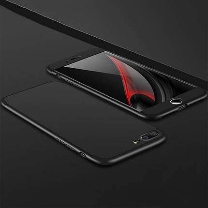 "Пластиковая накладка LikGus 360 градусов для Apple iPhone 6/6s plus (5.5"") (Черный), фото 2"