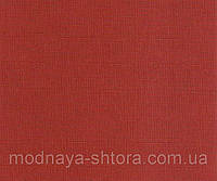 "Тканевые рулонные шторы ""Oasis"" лен (паприка), РАЗМЕР 120х170 см, фото 1"