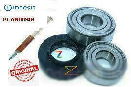 Комплект підшипників і сальник 25*47/64*7/10.5 для пральних машин Indesit, Ariston