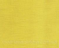"Тканевые рулонные шторы ""Oasis"" лен (желтый), РАЗМЕР 52,5х170 см, фото 1"