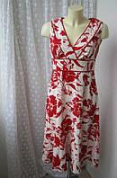 Платье женское лен льняное летнее миди в цветах F&F р.44-46
