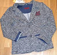 Пиджак (жакет) для мальчика р.134