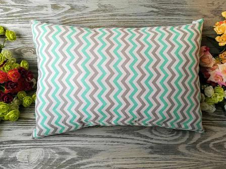 Подушка единорог и радуга , 43 см * 29 см, фото 2
