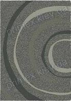 Ковер для дома Opal Cosy structure водоворот цвет серый