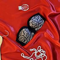 Бюстгальтер женский с силиконовой лентой