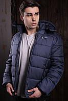 "Курточка мужская Jacket Spring/Autumn ""Euro"" весенняя/осенняя утепленная, цвет синий, фото 1"
