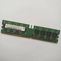 Оперативная память Hynix DDR2 1Gb 667MHz PC2 5300U 2R8 CL5 (HYMP512U64BP8-Y5 AB-T) Б/У, фото 1