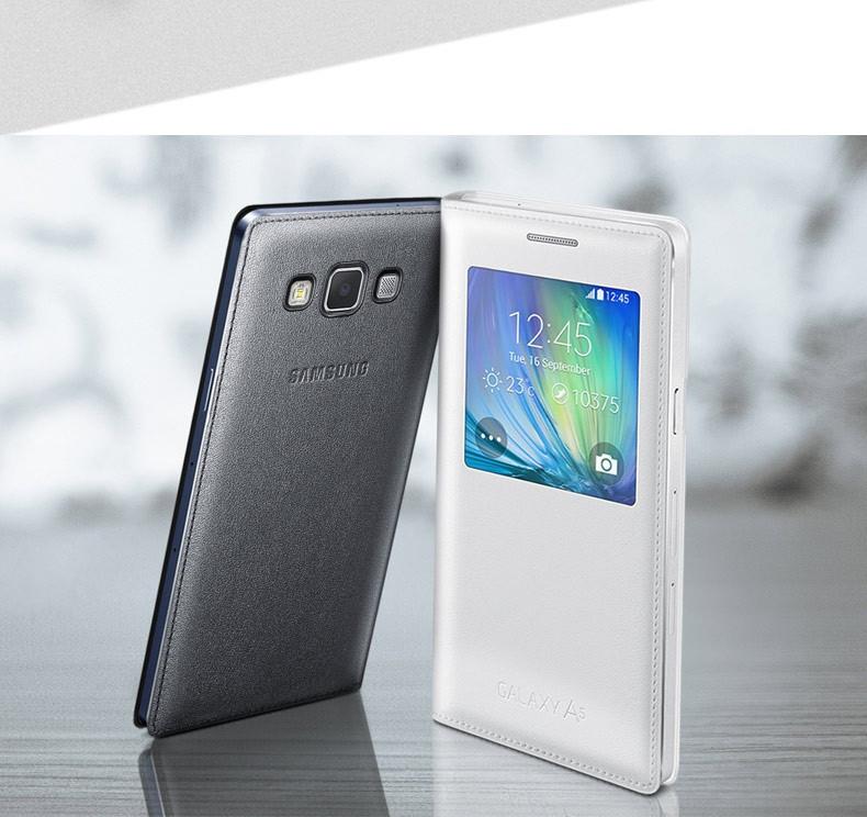 Samsung A7 A700 Galaxy оригинальный чехол смарт книжка для телефона