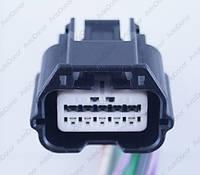 Разъем электрический 10-и контактный (29-21) б/у 38856