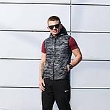 Спортивный костюм Nike (безрукавка+штаны, БАРСЕТКА В ПОДАРОК),  (Реплика ААА), фото 2