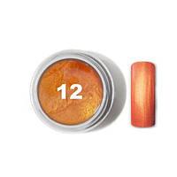 """Цветной гель № 12 METALLIC COLLECTION Golden Orange 5 мл """"Gelliant"""""""