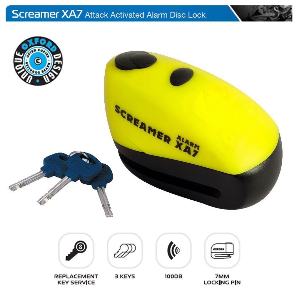 Замок тормозного диска Oxford Screamer XA7 LK280