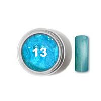 """Цветной гель № 13 METALLIC COLLECTION Ocean Blue 5 мл """"Gelliant"""""""