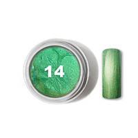 """Цветной гель № 14 METALLIC COLLECTION Mint 5 мл """"Gelliant"""""""